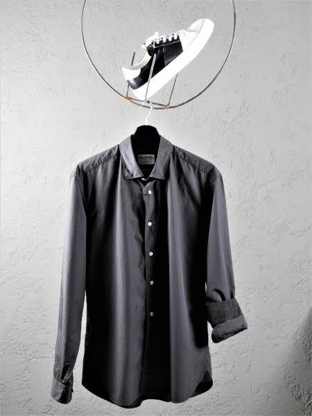 Herrenhemd Bergamo black - Bild 1